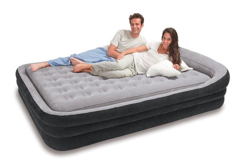 Купить надувной 2-х спальный матрас купить матрас 200 90 цена