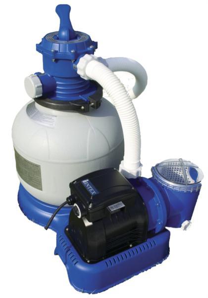 Насос-фильтр, хлоргенератор для бассейна