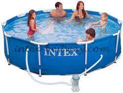 Intex 28218 каркасный бассейн