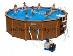 Intex 54928 Каркасный бассейн