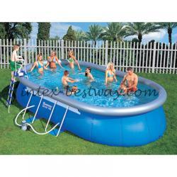 Bestway 56153 Каркасный овальный басейн