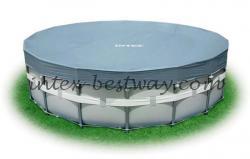 Intex 57900 Тент для каркасного круглого бссейна