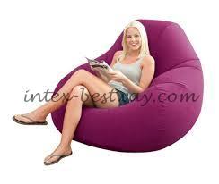 Кресло надувное Intex