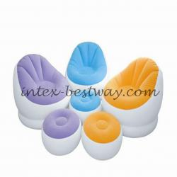Intex 68572 Надувное кресло Cafe Chaise Chair