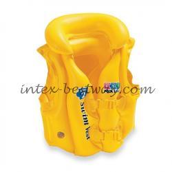 Надувной жилет для плавания Intex 58660