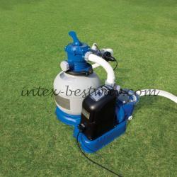 Intex 56678 Фильтрующий насос песочный с хлоргенератором