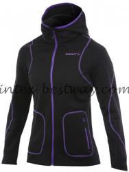 Craft Active Full Zip Hood W