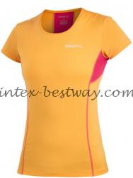 Craft Cool Tee With Mesh Wmn